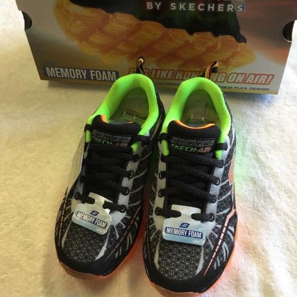 964f7f3864a3 Skechers Kids Boys Skech Air Turbo Shock Sneaker